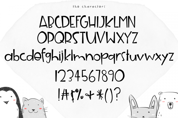 Animal Crackers - A Fun Handwritten Font - Free Font of The Week Design8