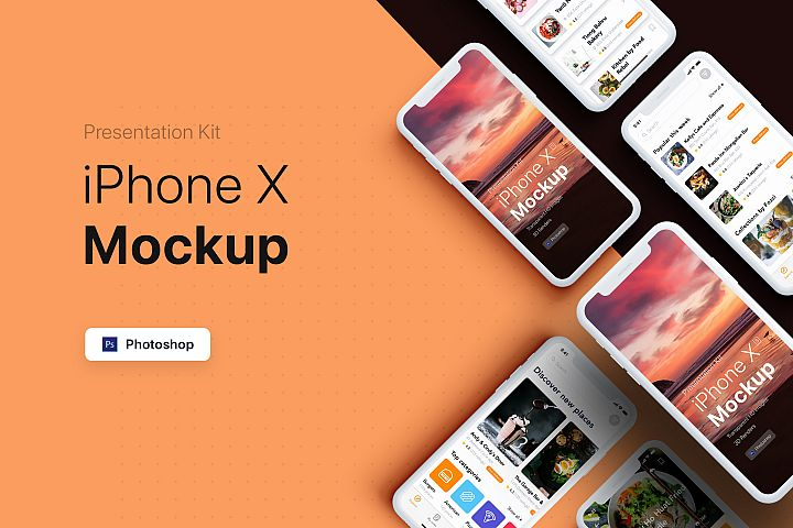 Presentation Kit - iPhone showcase Mockup_v5