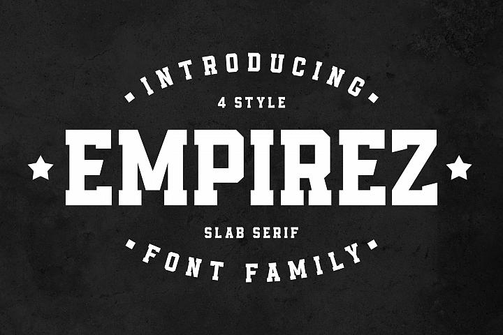 Empirez - Slab Serif