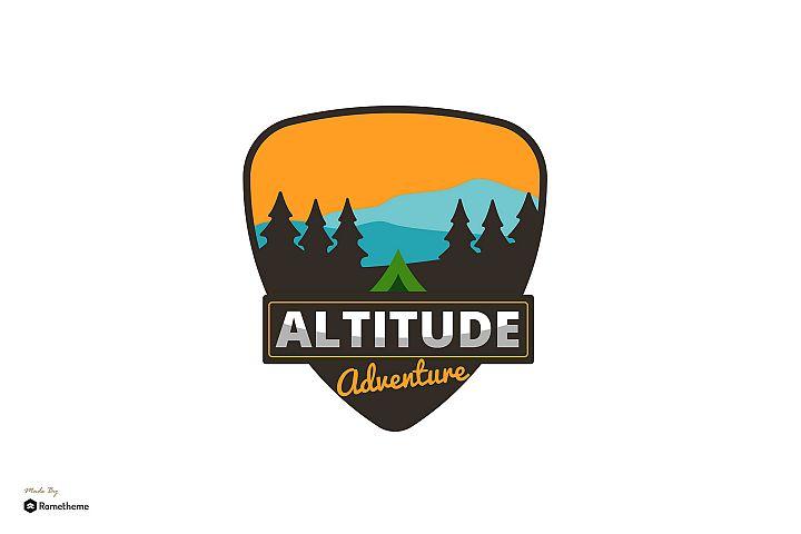Altitude Adventure - Logo Template RB