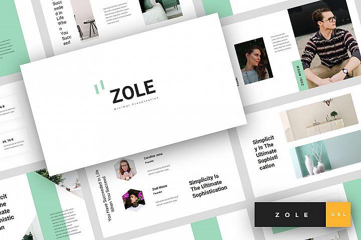 Zole - Minimal Google Slides Template