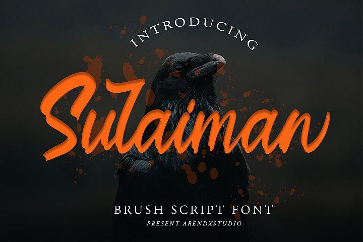 Sulaiman Font