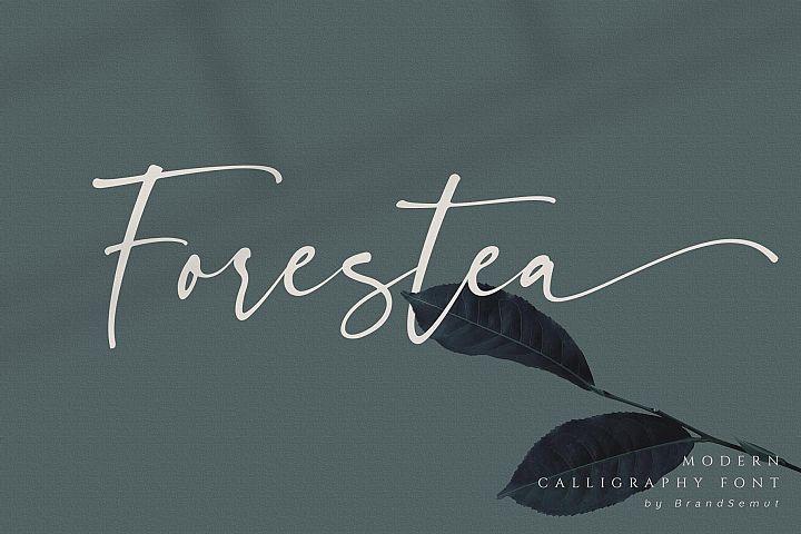 Forestea - Classy Script example image 1