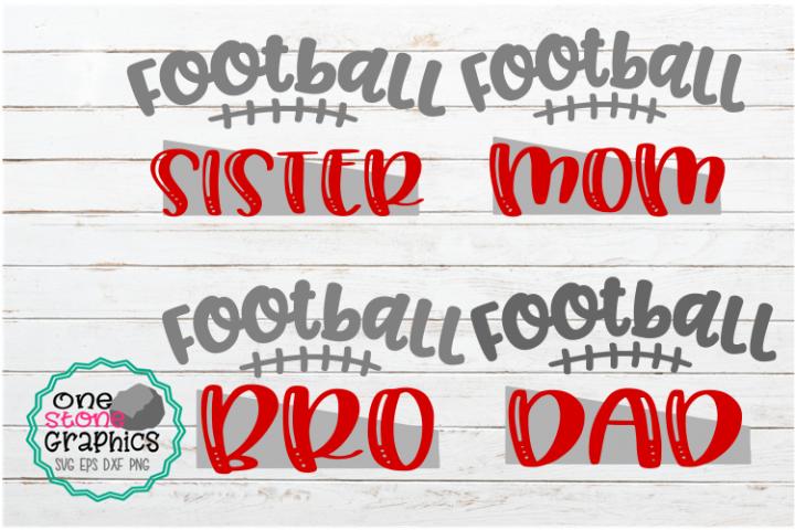 Football bundle svg,football family svg,football mom svg,
