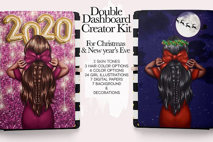 Christmas & New Year creator kit