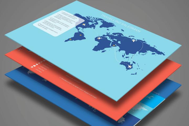 Smart World Map Infographics
