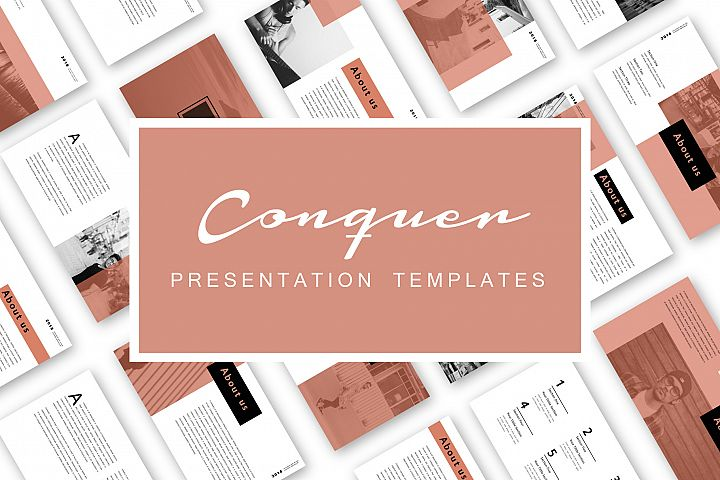 Conquer PowerPoint Templates