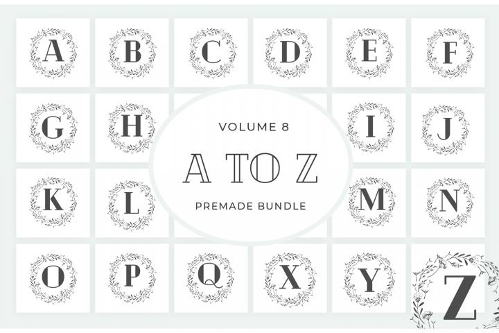 Vol.8 Alphabets Logo Templates