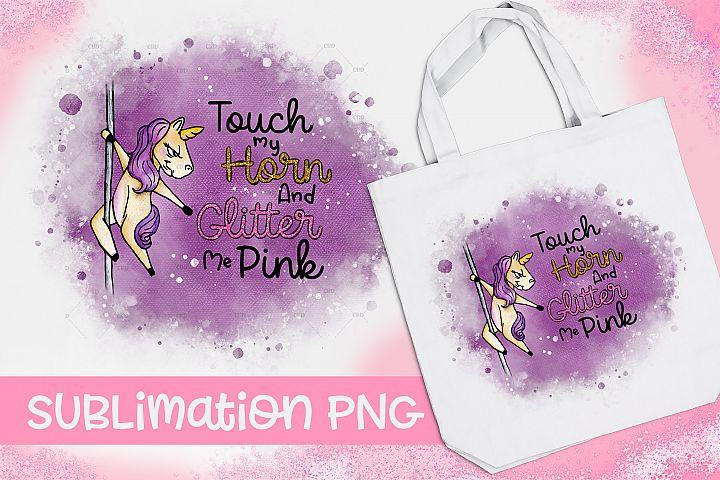 Unicorn Dancing Pole Sublimation|Adult Sublimation|PNG