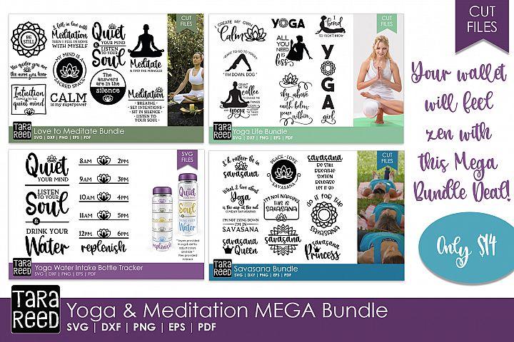 Yoga and Meditation MEGA Bundle