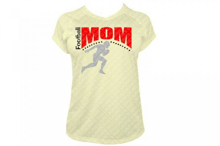 FOOTBALL MOM FILE SVG,EPS,DXF,PNG,JPG