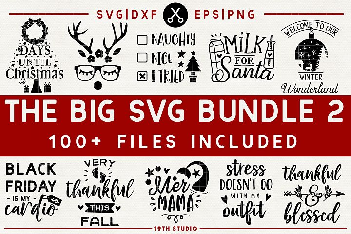 Limited Time Offer - SVG Bundle - 100 for $5