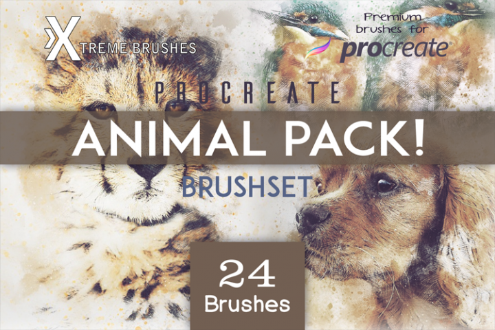 Procreate Animal Pack!