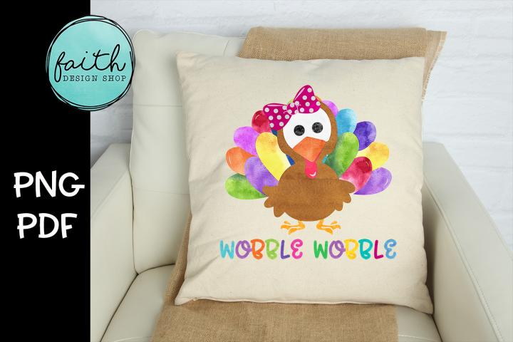 Wobble Wobble Turkey Girl