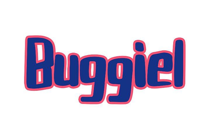 Buggiel - Bold and Fun Font