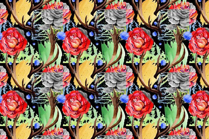 Roses PNG watercolor flower set - Free Design of The Week Design 4