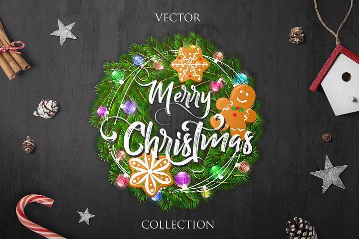 Merry Christmas - Vector Collection