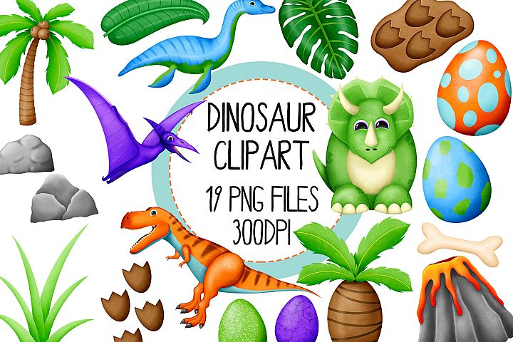 Dinosaur Clipart Set 1