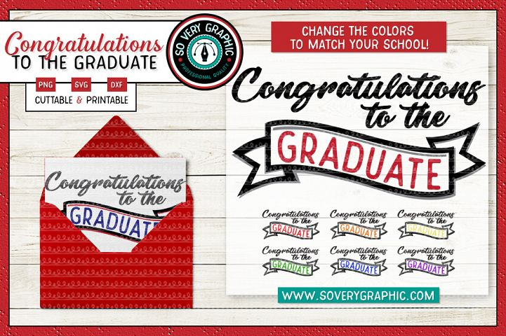 Congratulations to the Graduate SVG Cut File