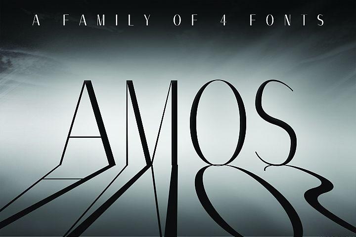 AMOS, A Modern Sans Serif