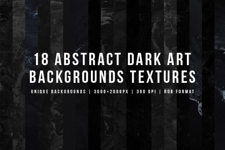 Abstract Dark Art Backgrounds Textures