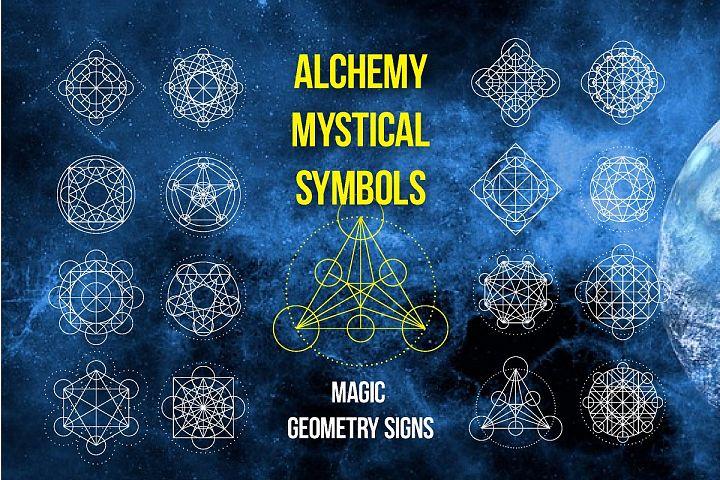 Magic geometry signs SVG Ai EPS PSD JPG PNG