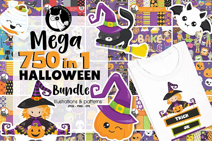 750 in 1 - Halloween Bundle - 95OFF - $10 instead of $150 !