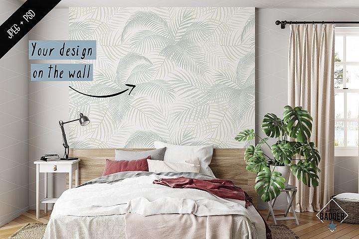 Interior mockup - frame & wall mockup creator example image 7