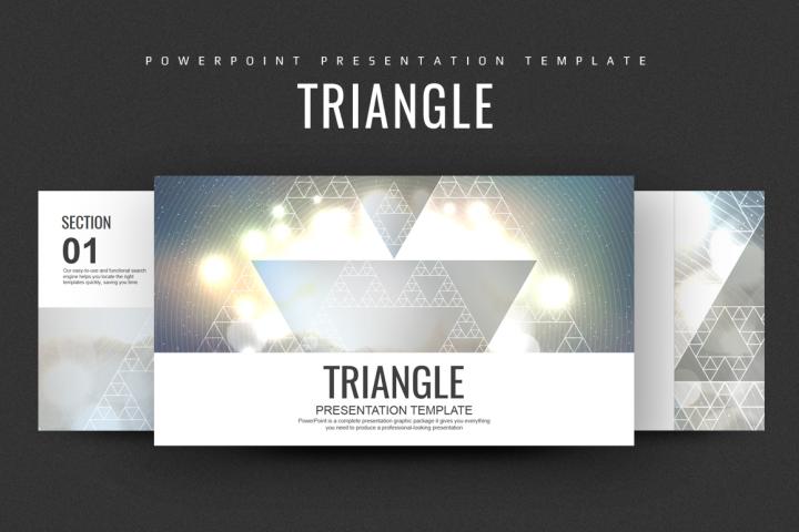 Triangle Presentation Template