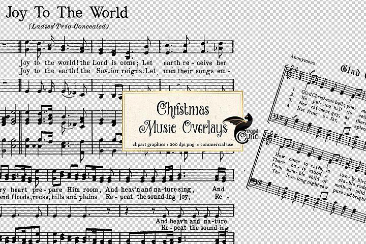Christmas Music Overlays