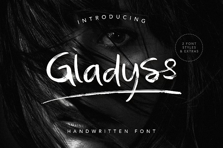 Gladyss Handwritten Font