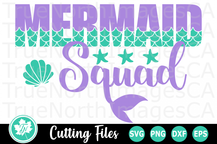 Mermaid at Heart - A Summer SVG Cut File