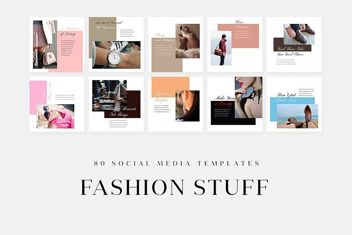 Fashion Stuff - Social Media Templates