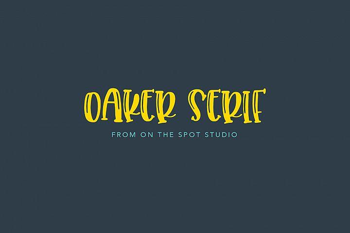Oaker - SERIF