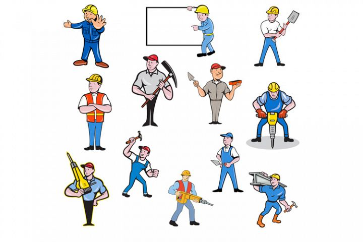 Construction Worker Set