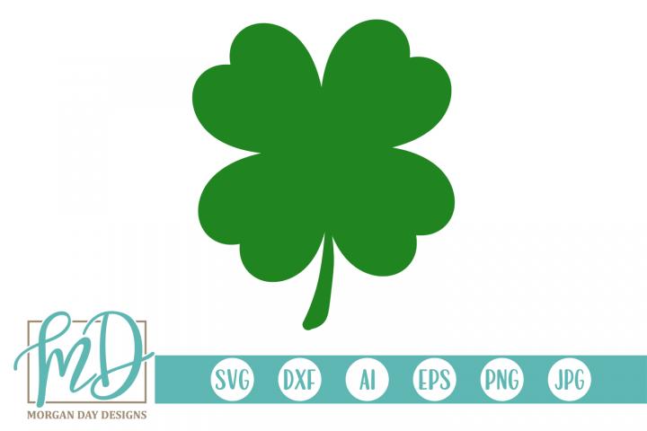Shamrock - St Patricks Day SVG, DXF, AI, EPS, PNG, JPEG