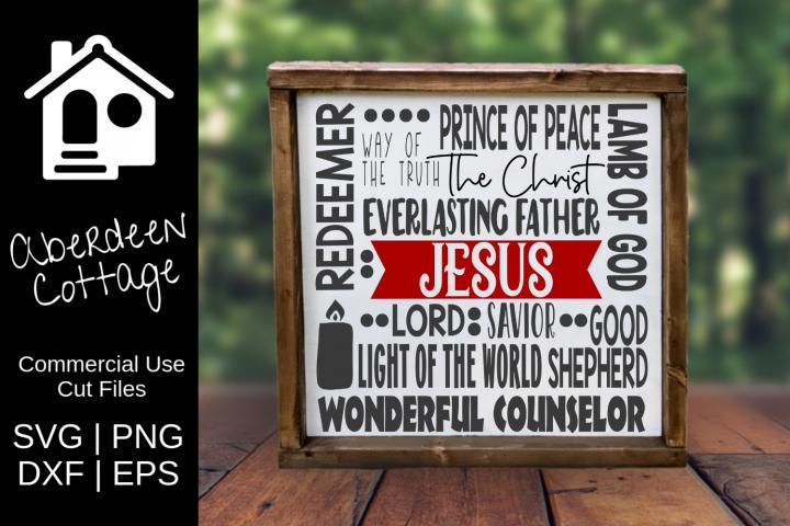 Jesus Expressions SVG Design