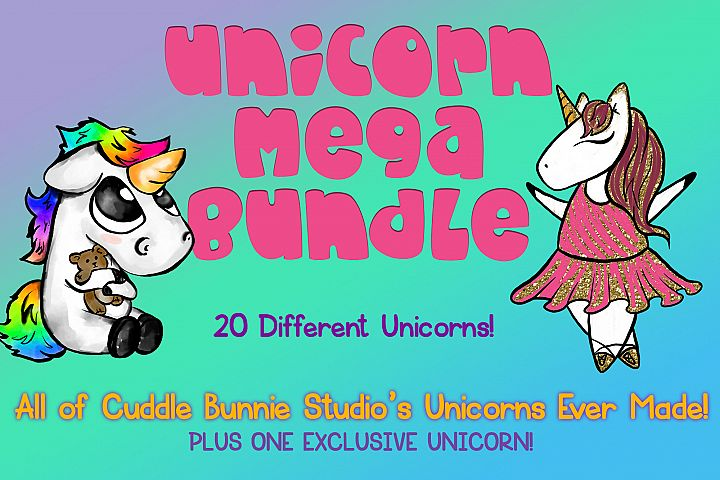 All The Unicorns! | Every Unicorn CBstudio has Made!