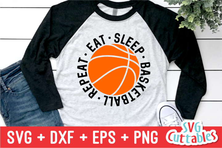 Basketball SVG | Eat Sleep Basketball Repeat