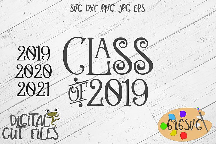 Class Of 2019, 2020 and 2021SVG