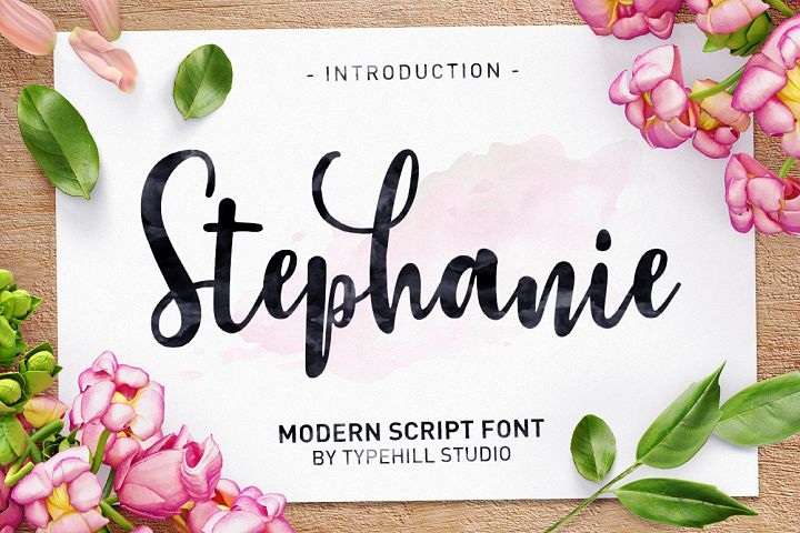 Stephanie Script - Free Font of The Week