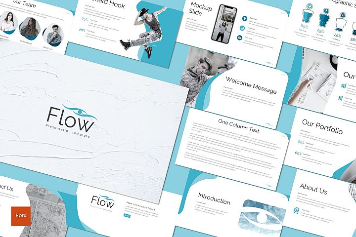 Flow - Powerpoint Template