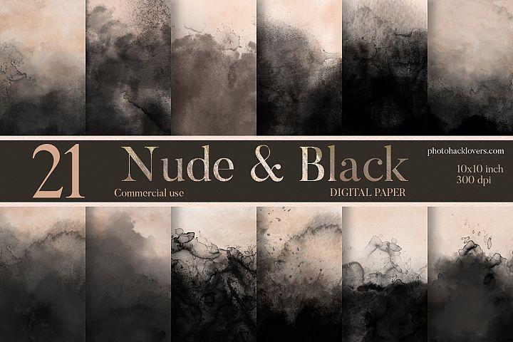 Nude & Black Textures