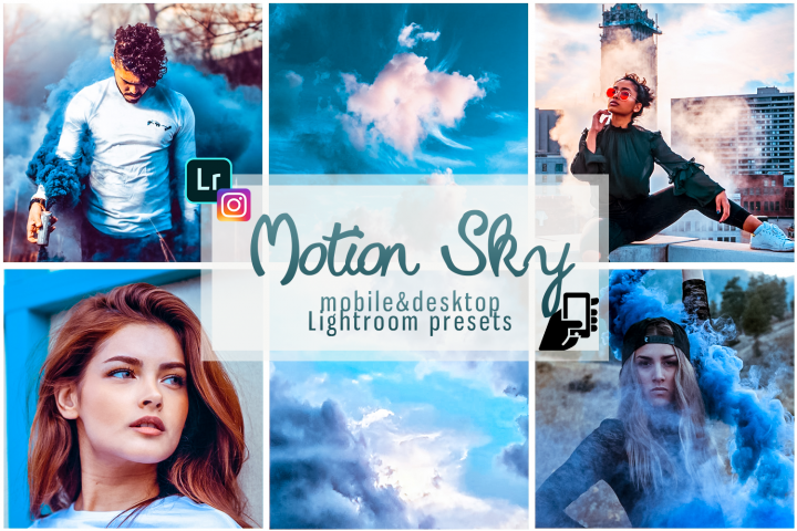 Motion sky presets lightroom mobile pc instagram presets