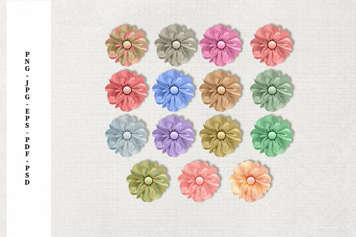 Silk Flower Embellishments