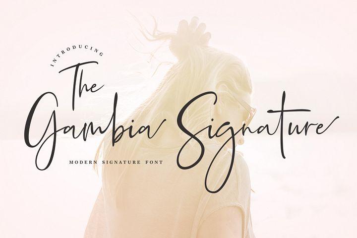 Gambia Signature