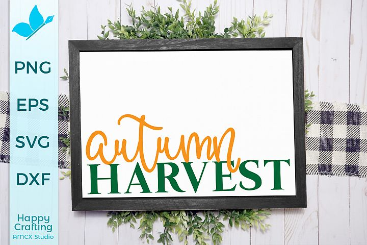 Autumn Harvest - A Fall Cut File