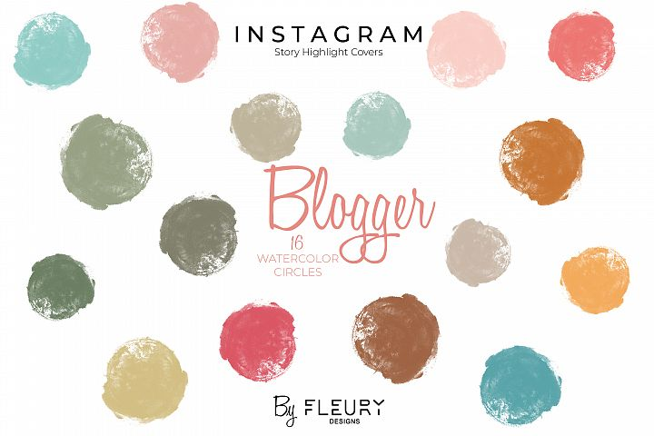 Instagram Stories Highlight Covers - Blogger