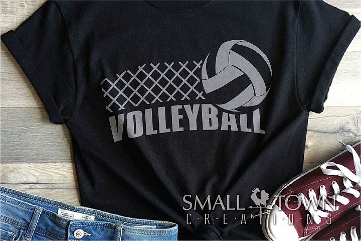 Volleyball, Volleyball ball, Sport logo, PRINT, CUT & DESIGN