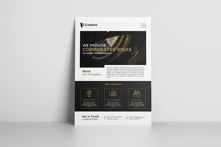 Creative Corporate Flyer Vol. 04